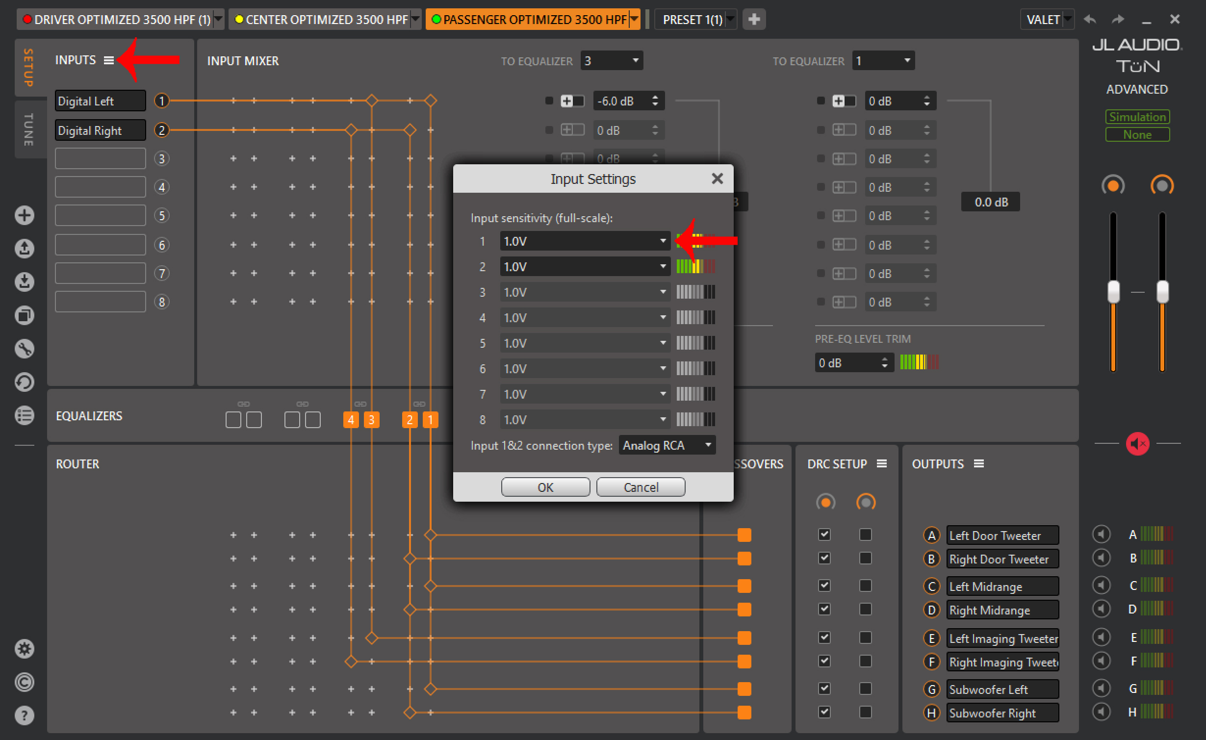 What Is Input Sensitivity Jl Audio Help Center Search Articles Distortion Meter Tun Twk