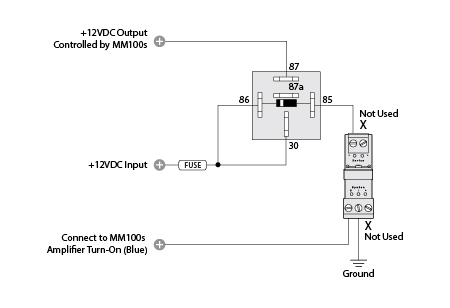 MOSFET Power Control Kit Diagram